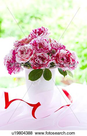 Varigated roses clipart #15