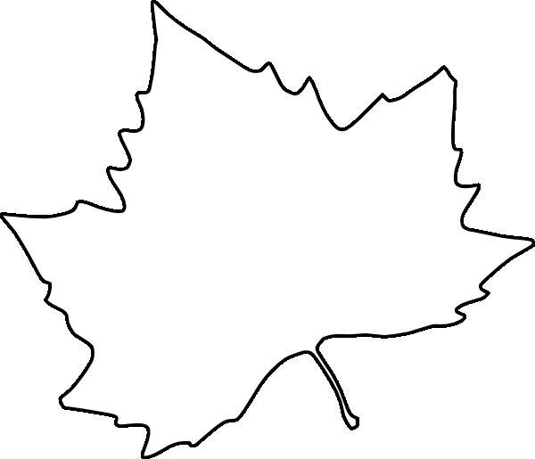printable clip art for leaves.