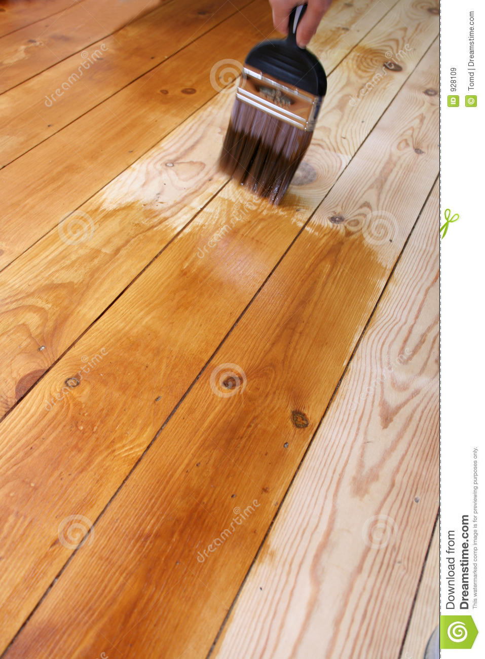 Varnished Floor Royalty Free Stock Images.