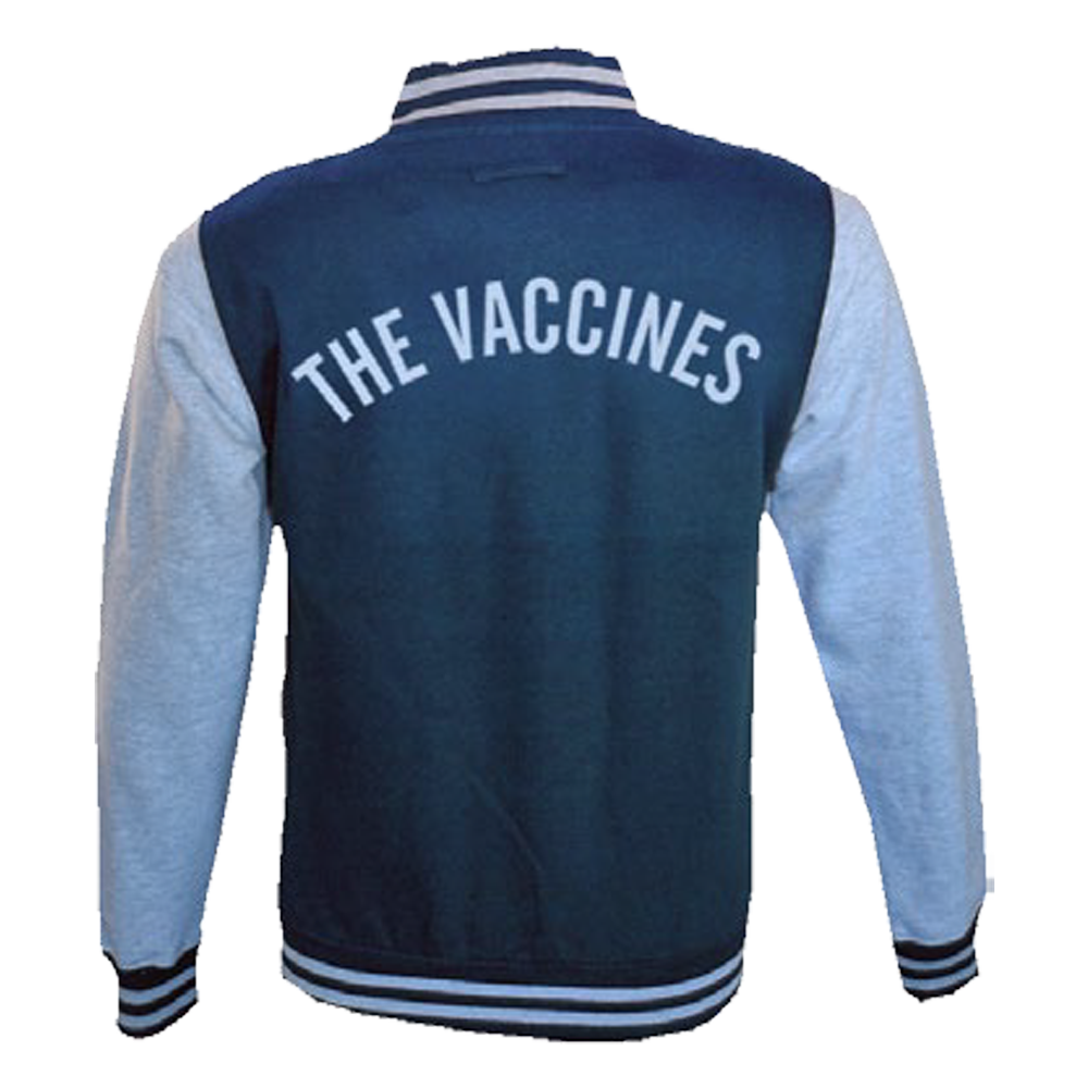 \'V\' Logo Navy/Heather Grey Varsity Jacket.