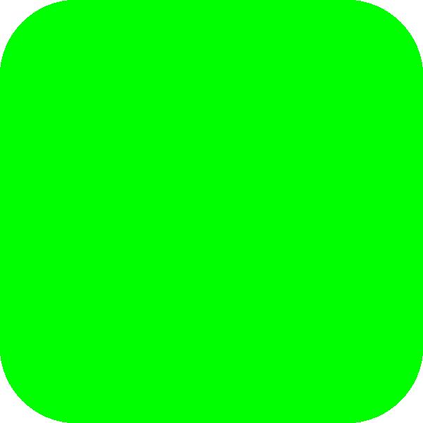Green square clipart.