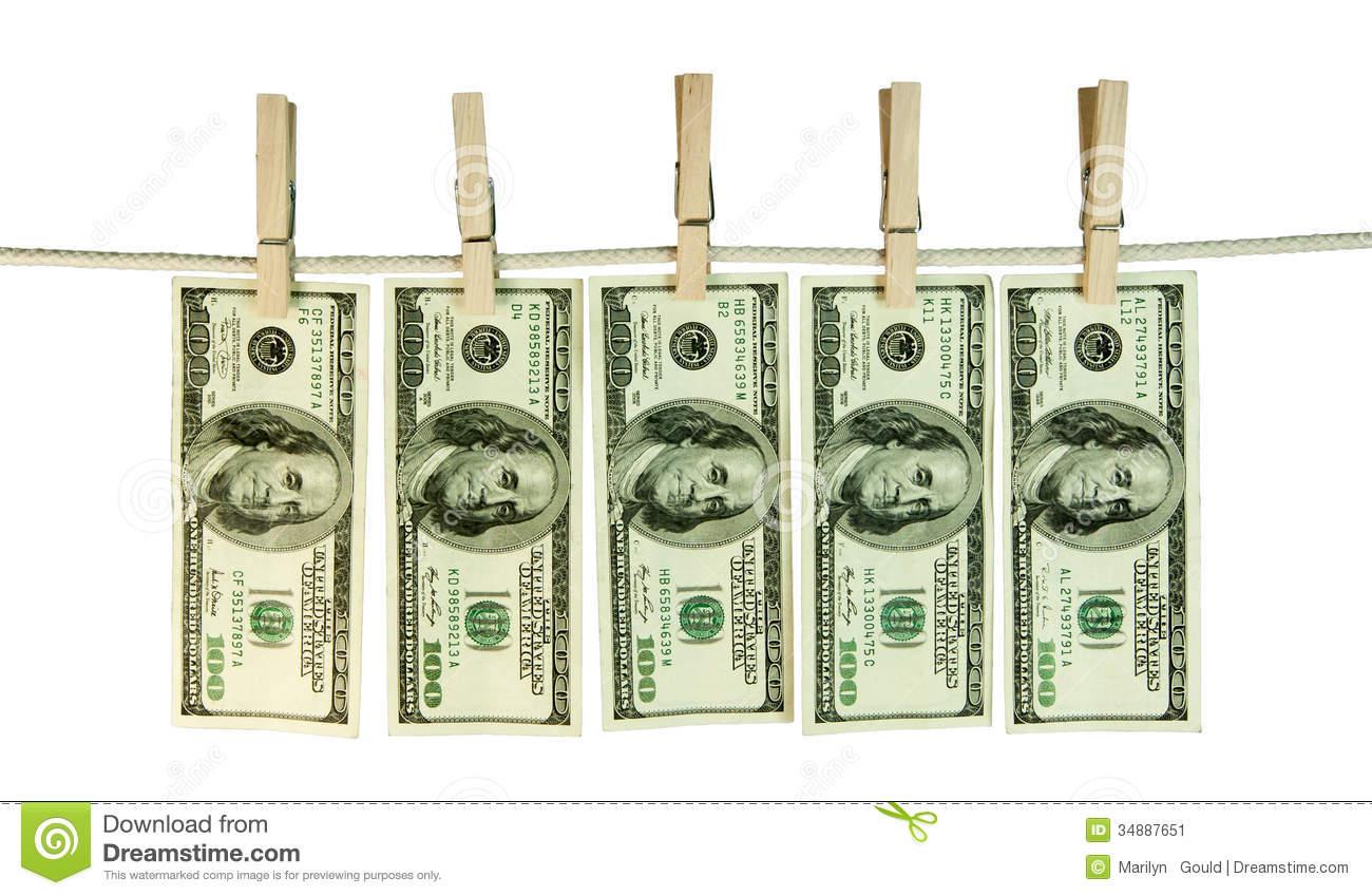 Hundred Bills Clipart.