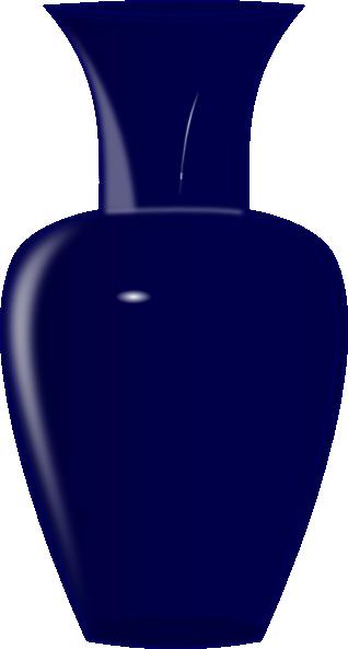 Blue Glass Vase Clip Art at Clker.com.
