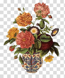Vintage flower , assorted.