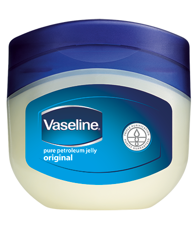 Vaseline Petroleum Jelly.