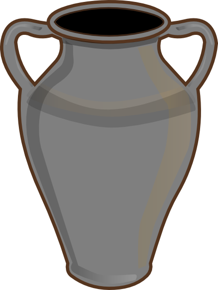 Empty Flower Vase Clip Art.