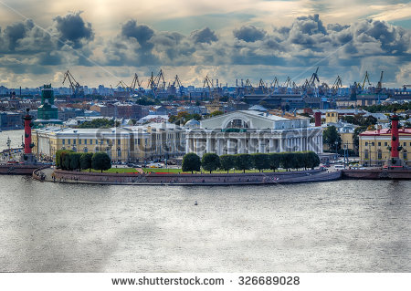 Spit Of Vasilievsky Island Stock Photos, Images, & Pictures.