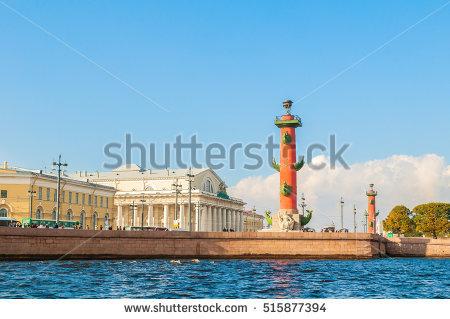 Vasilievsky Island Stock fotos, billeder til fri afbenyttelse og.