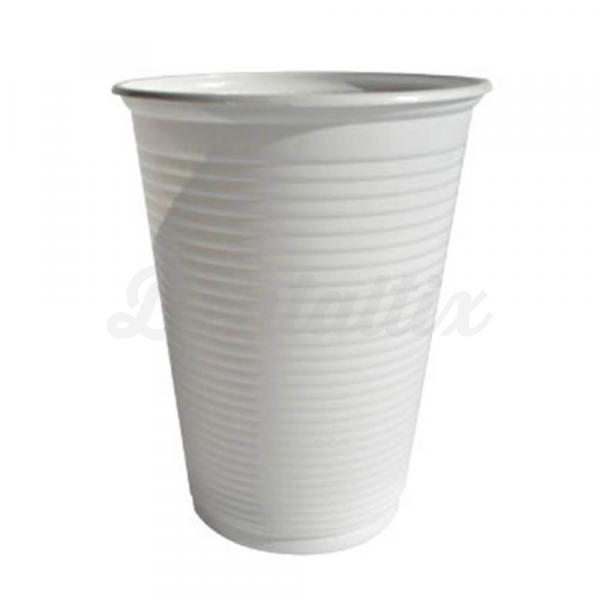 VASOS PLÁSTICO BLANCOS 160 ml. (3000u.).