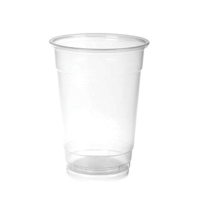 Vaso de plástico liso transparente 50 cL G20018.