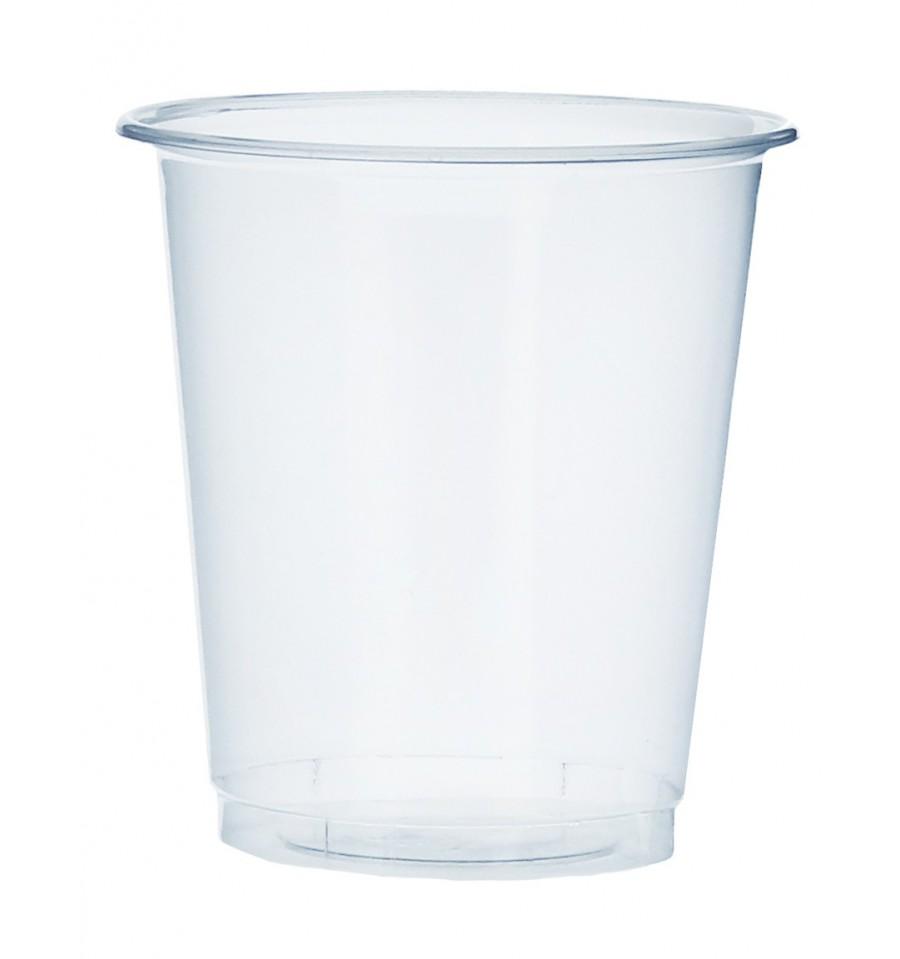 Vaso de Plastico PP Transparente 100 ml (50 Uds).