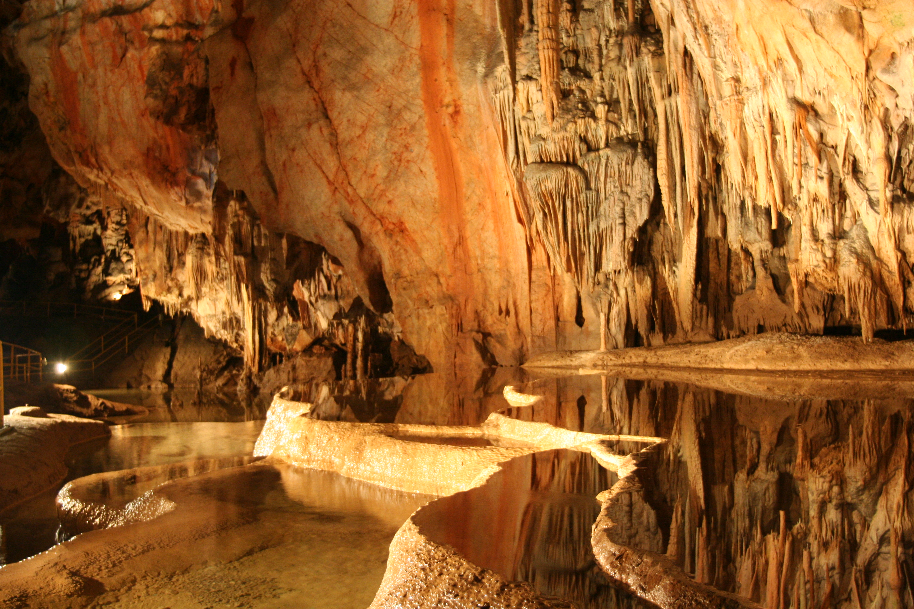 Caves of Aggtelek Karst (Hungary).