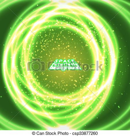 Clip Art Vector of vast expanses of the universe.