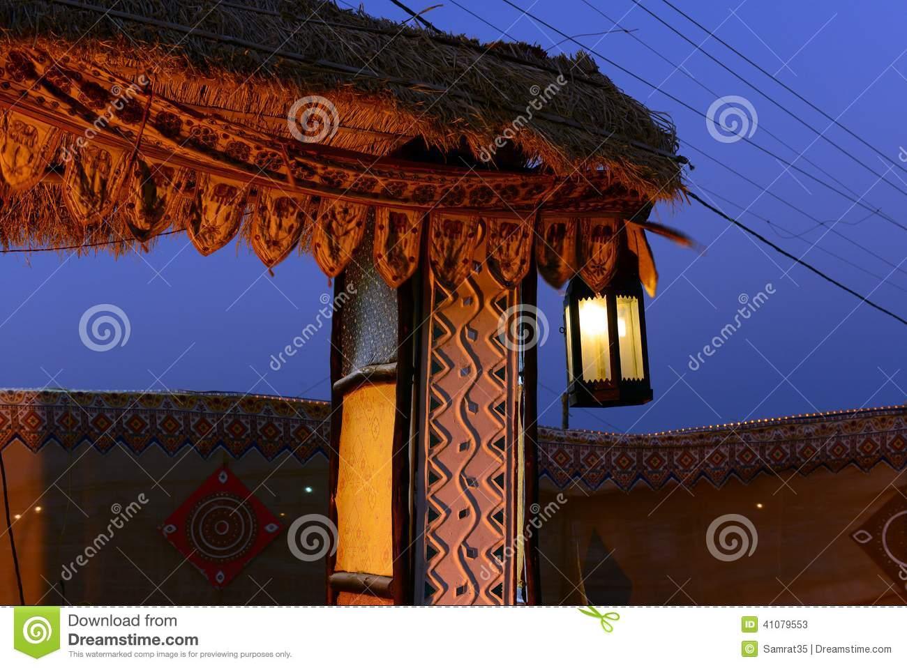 Gujarat Culture Stock Photo.