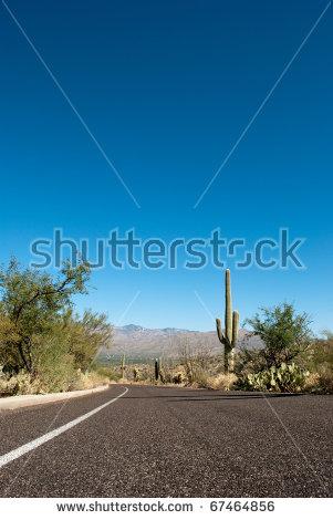 Arizona Highway Stock Photos, Royalty.