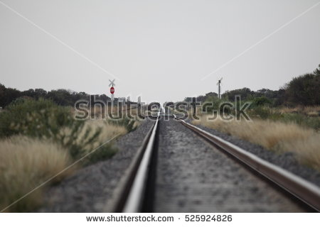 Rail Level Crossing Stock Photos, Royalty.