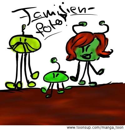 Cartoon familienfoto!.