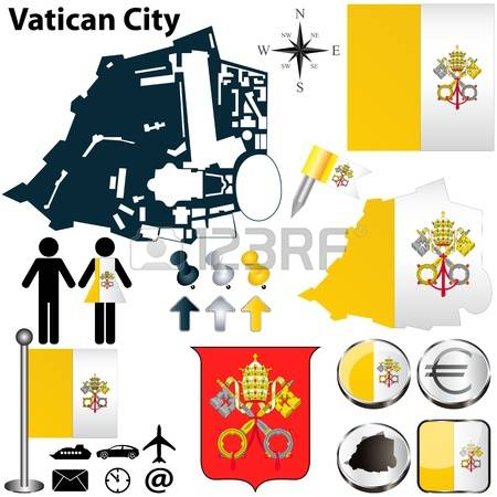 1,158 Vatican City Stock Vector Illustration And Royalty Free.