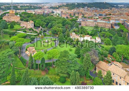 Vatican Gardens Stock Photos, Royalty.