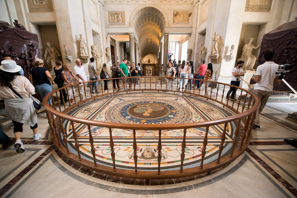 The Vatican State: A country in the heart of Rome, Italy.