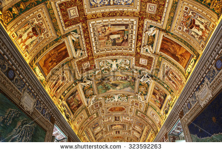 Vatican Museum Stock Photos, Royalty.