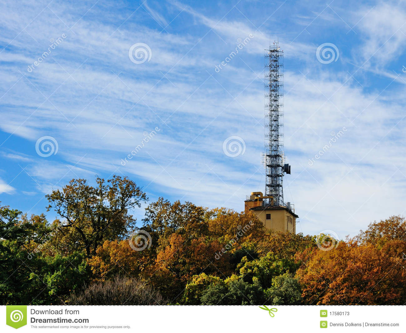 Vatican Radio Tower Stock Photos.