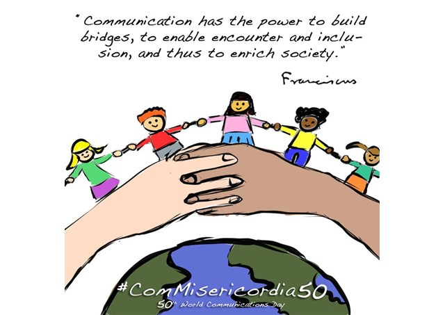Pope Francis: communicating mercy on World Comms Day.