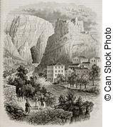 Fontaine de vaucluse Illustrations and Stock Art. 6 Fontaine de.