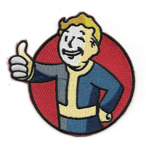 Details about Fallout Video Game Vault Boy Logo Embroidered Patch, NEW  UNUSED.