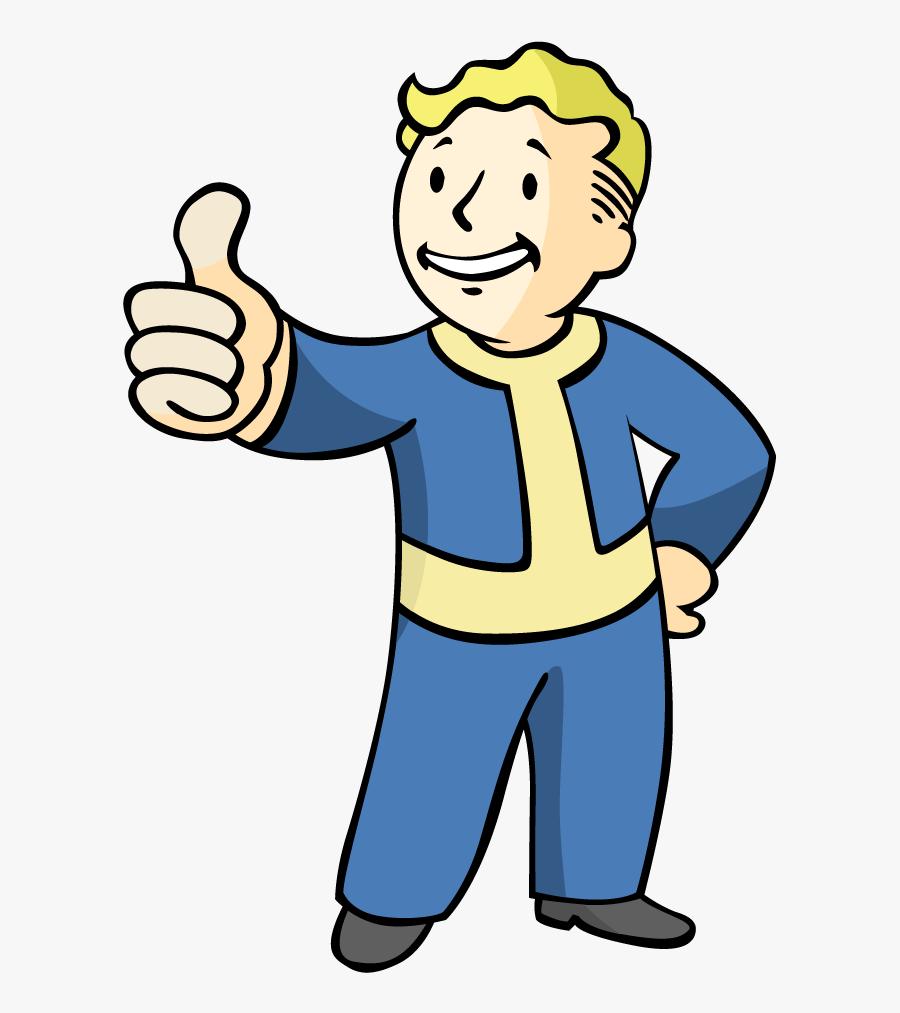 Fallout4 Vault Boy Vector Ai Vault Boy Middle Finger.