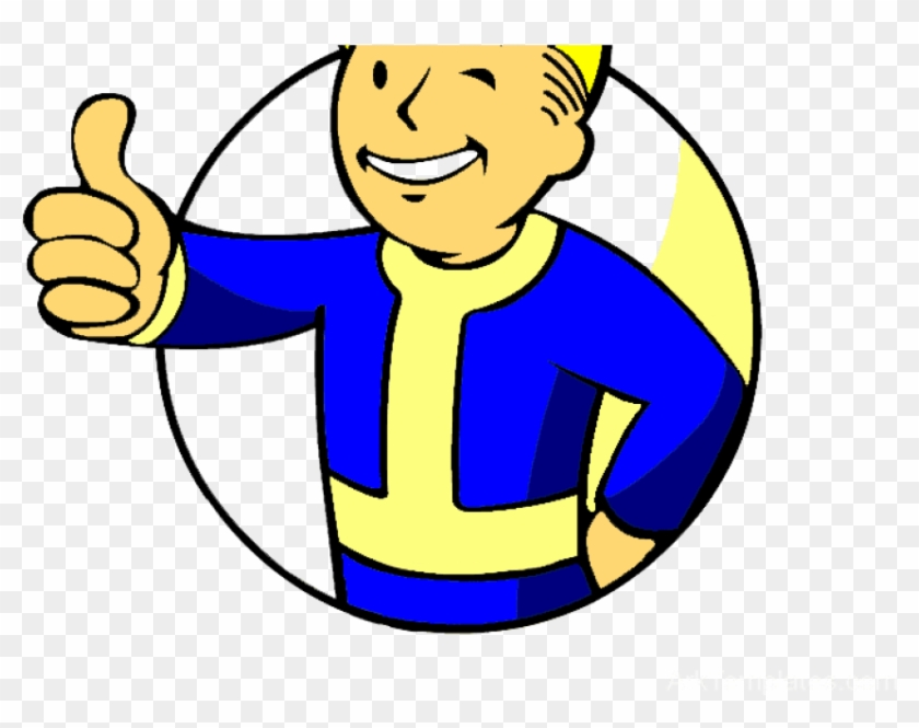 Free Png Download Thumbs Up Vault Boy Png Images Background.
