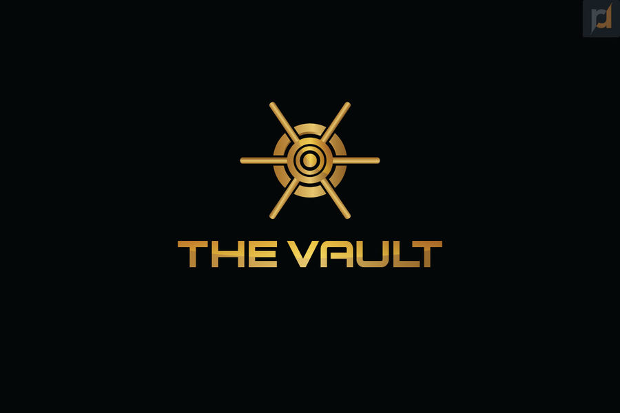 Entry #49 by Rainbowrise for The Vault logo.