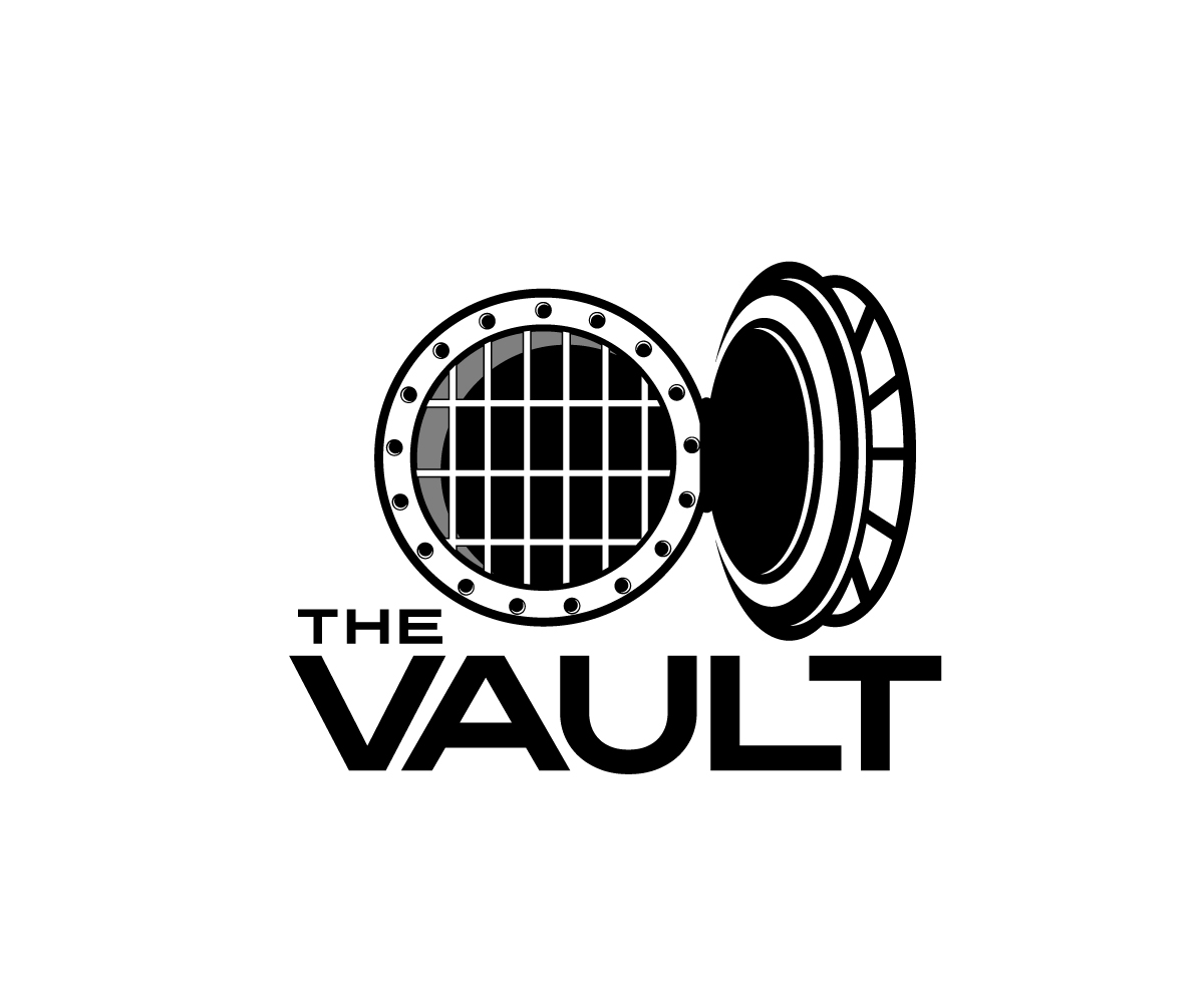 Playful, Modern, Night Club Logo Design for The Vault by Jay.