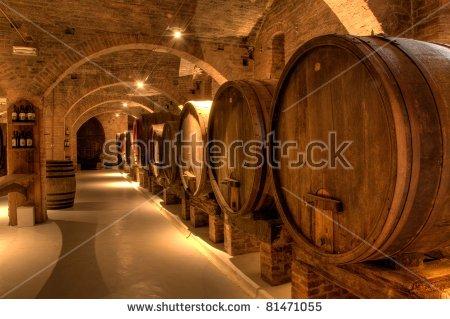 Wine Cellar Stock Photos, Royalty.