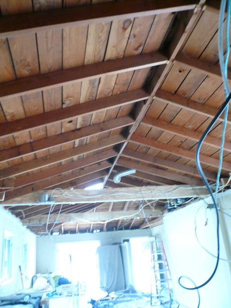 Vaulting an existing Ceiling « R D Bacon, Inc.