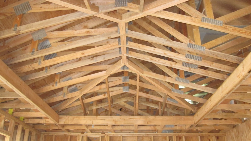 Vaulted CeilingOpening up your home for a bigger feel.