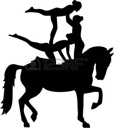 237 Horse Vaulting Stock Vector Illustration And Royalty Free.