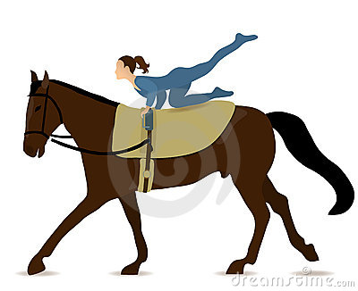 Vaulting Stock Illustrations.