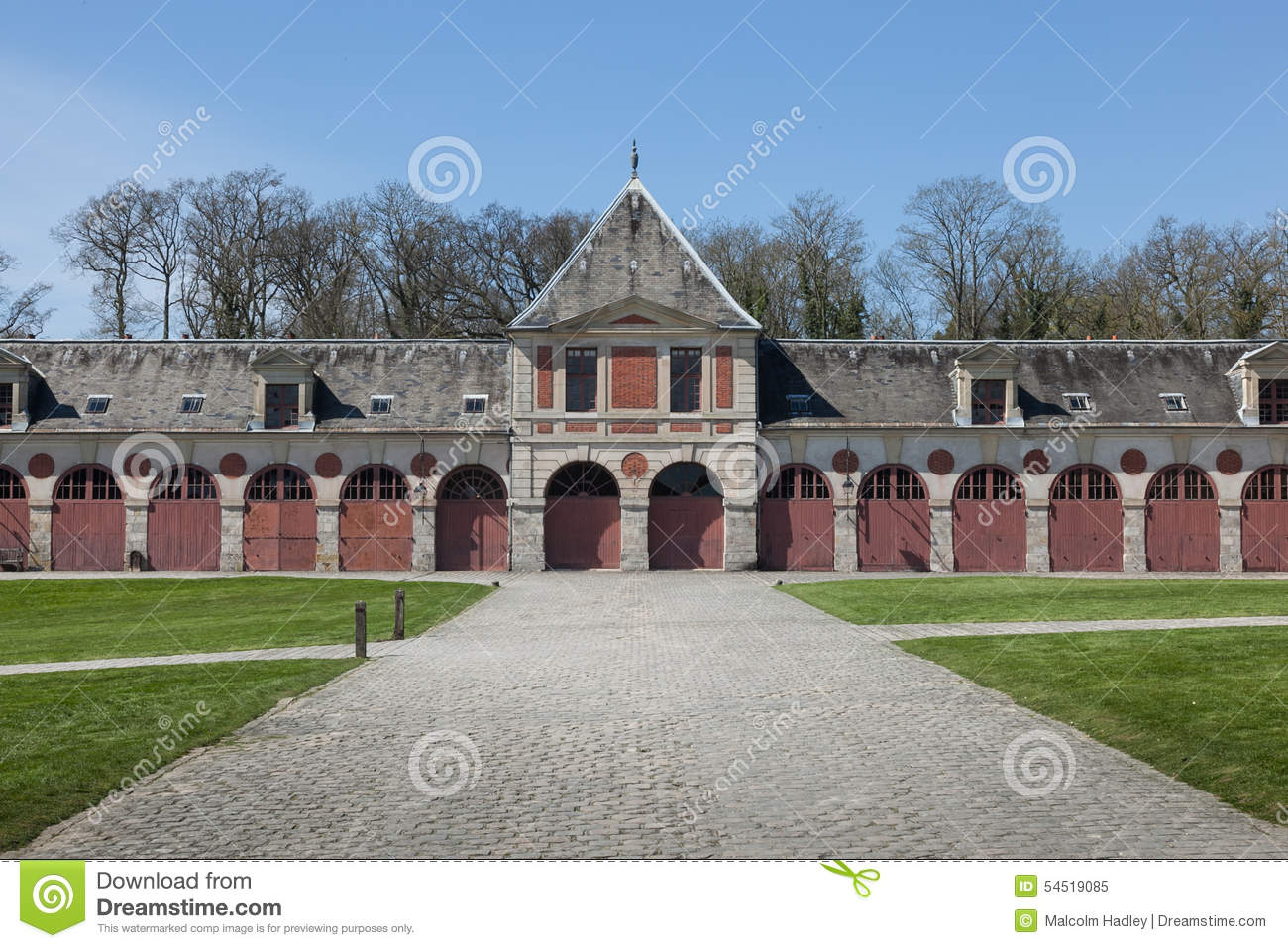 Former Stables At Vaux.