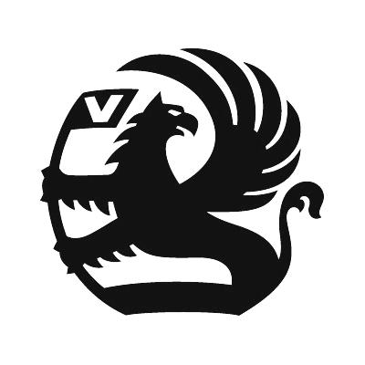 2x Vauxhall Logo Sticker.