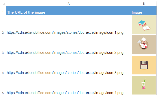 How to convert image URLs to actual images in Excel?.