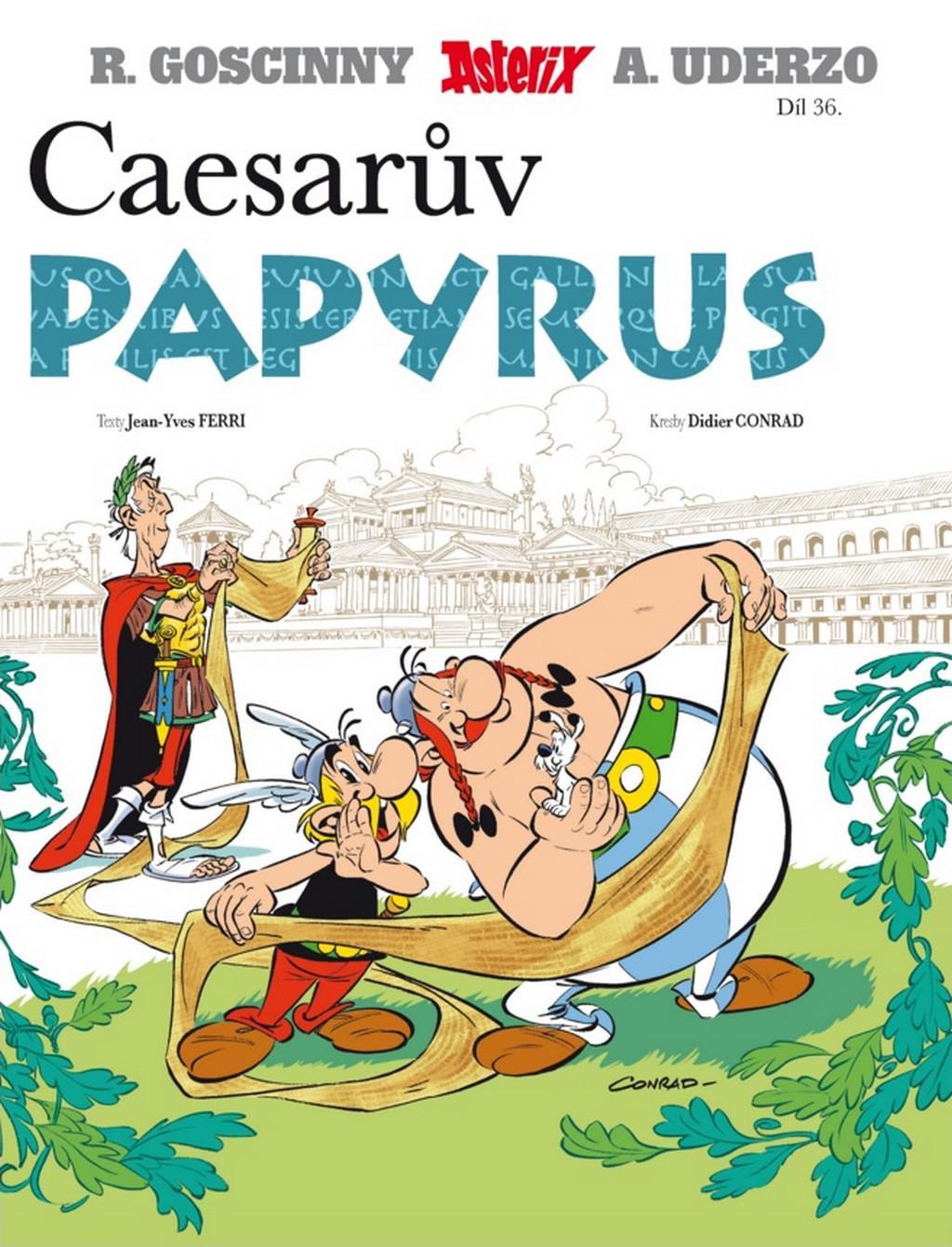 Asterix řeší v novém komiksu propagandu i aktuální krize — ČT24.
