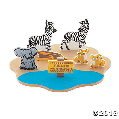 3D Floating African Safari VBS Craft Kit.