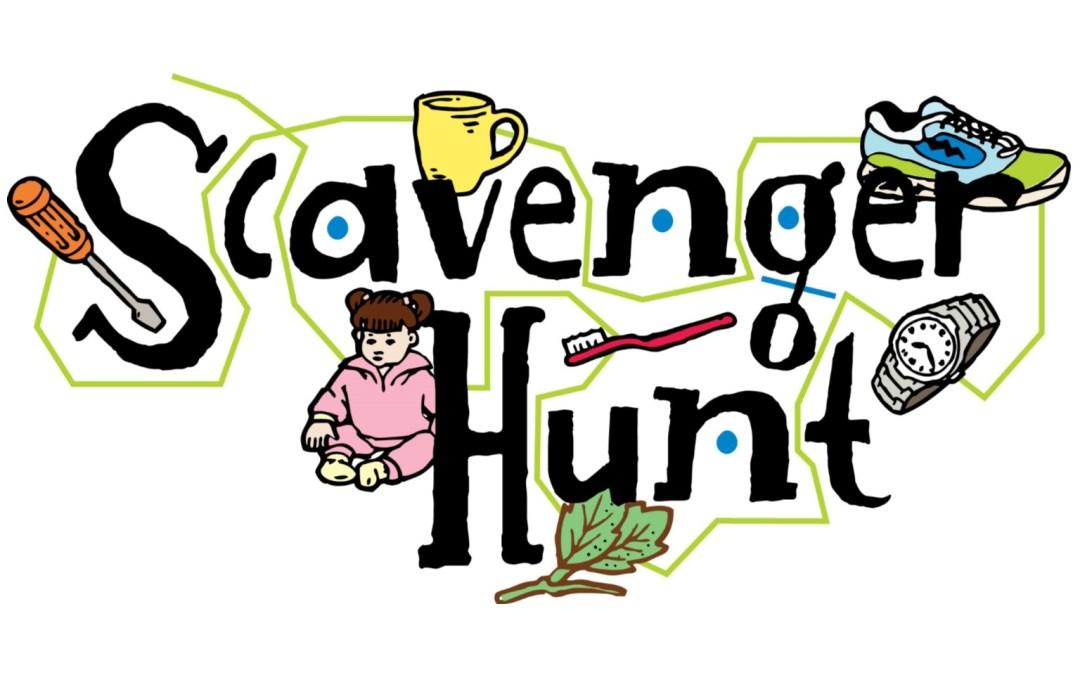 64 Scavenger Hunt free clipart.