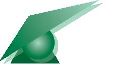 VCA logo met witte letters vrijstaand.