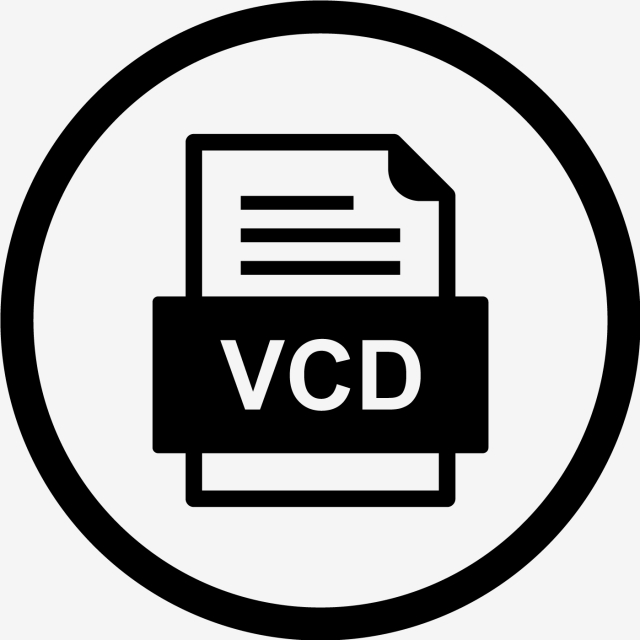 Vcd File Document Icon, Vcd, Document, File PNG and Vector.