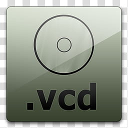 Glossy Standard , .vcd logo art transparent background PNG.