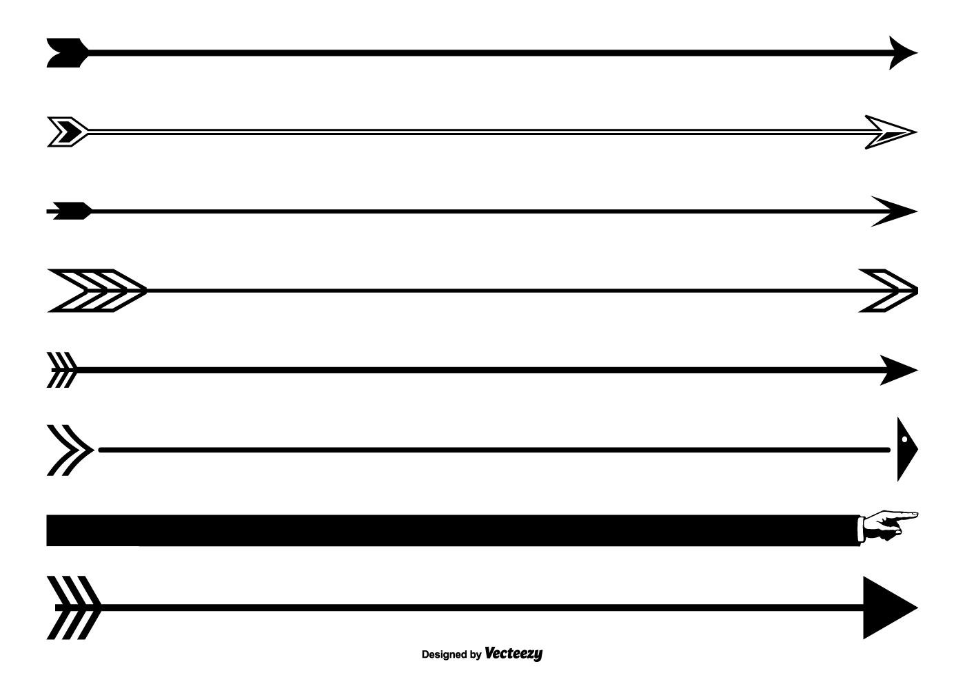 Arrow Page Divider Set.