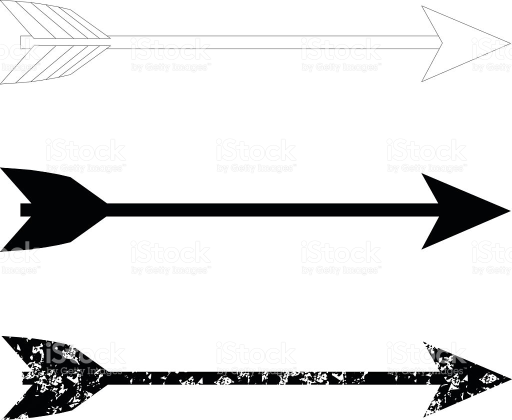 3458 Arrows free clipart.