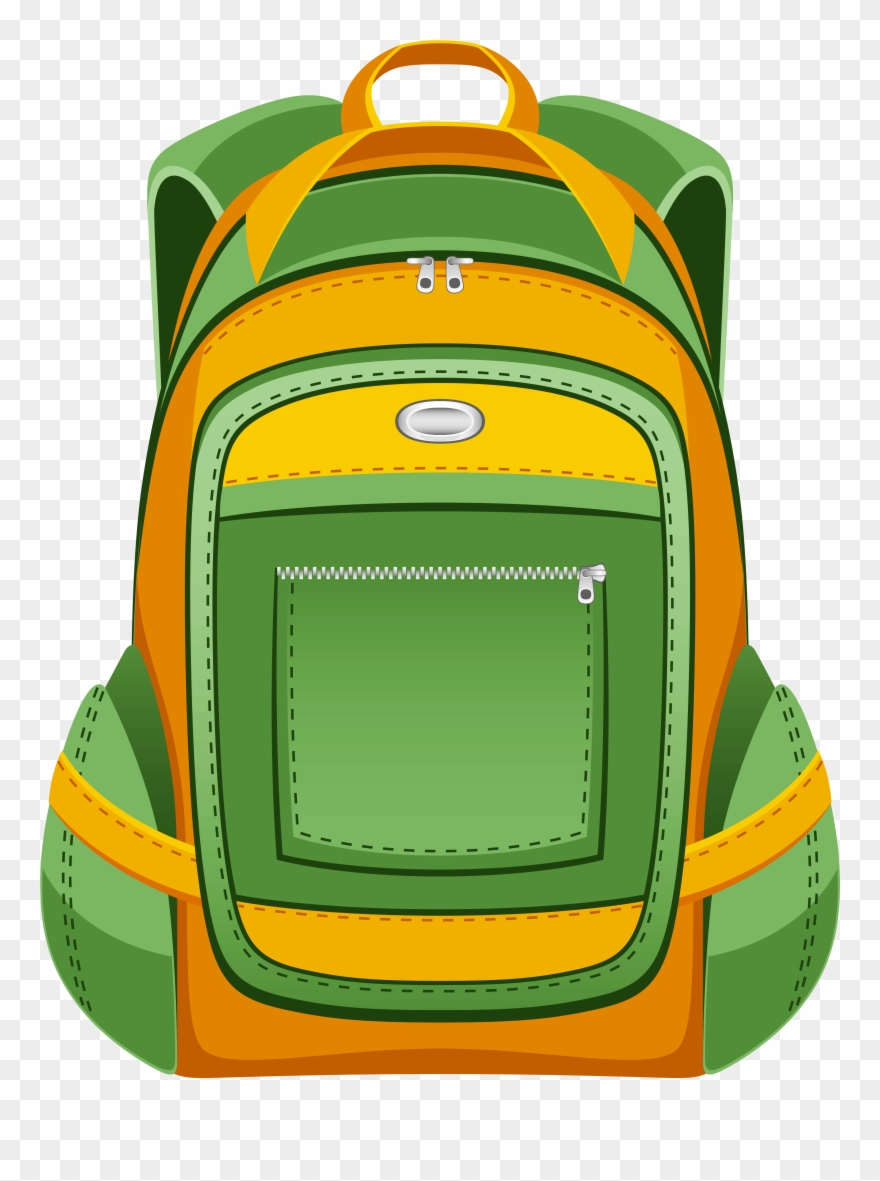 Clip Art Backpack Clipart.